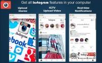網頁版Instagram 電腦也能上傳,下載,發文,直播【Chrome 擴充】