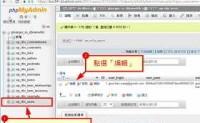 wordpress 忘記登入密碼 透過phpMyAdmin 重新設定密碼方法